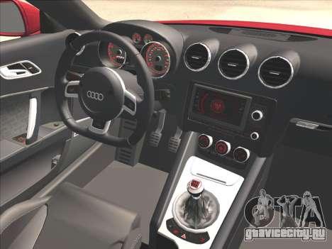 Audi TT RS 2010 для GTA San Andreas вид справа