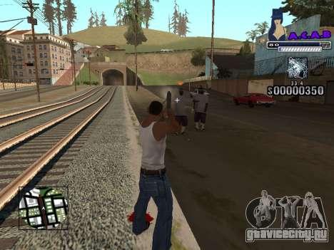 C-HUD new A.C.A.B для GTA San Andreas четвёртый скриншот