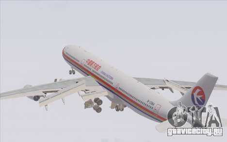 Airbus A340-300 China Eastern для GTA San Andreas двигатель