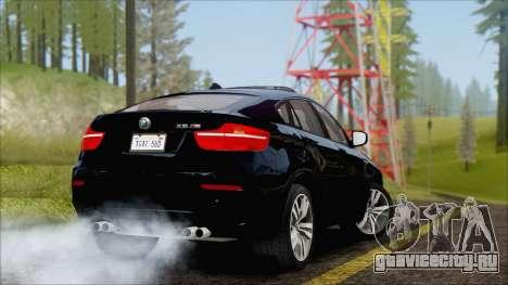 BMW X6M E71 2013 300M Wheels для GTA San Andreas вид справа