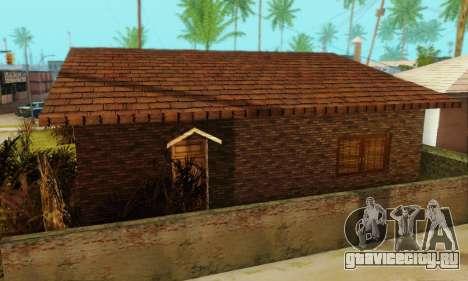 Новые текстуры дома Денис для GTA San Andreas четвёртый скриншот
