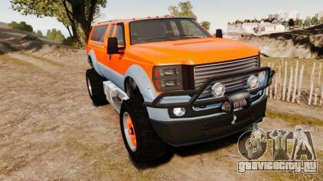 GTA V Vapid Sandking XL wheels v2 для GTA 4