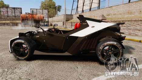 KTM X-Bow R для GTA 4 вид слева