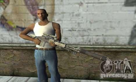 Sniper Rifle из MW2 для GTA San Andreas третий скриншот