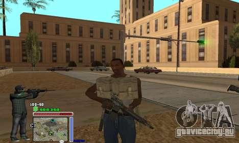 C-HUD Grove by Krutoyses для GTA San Andreas третий скриншот