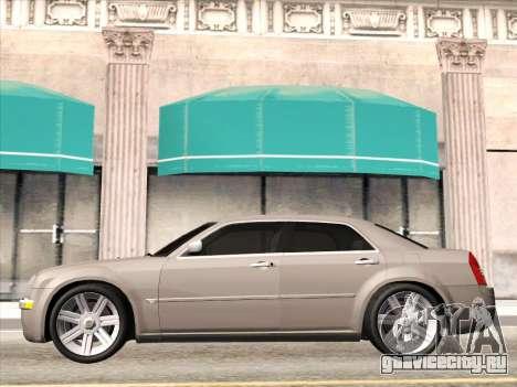 Chrysler 300C 2009 для GTA San Andreas вид сзади
