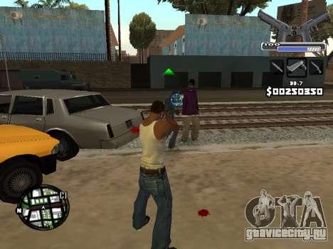 C-HUD Deagle для GTA San Andreas четвёртый скриншот