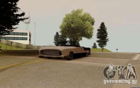 Oceanic Кабриолет для GTA San Andreas вид сзади