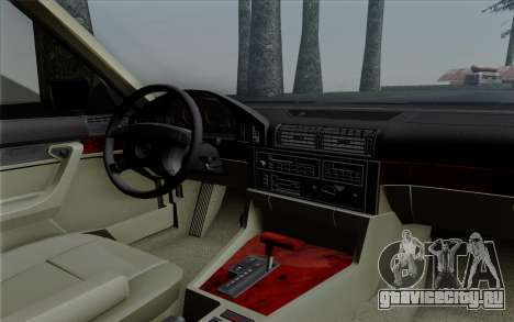 BMW 540i (E34) для GTA San Andreas вид сбоку