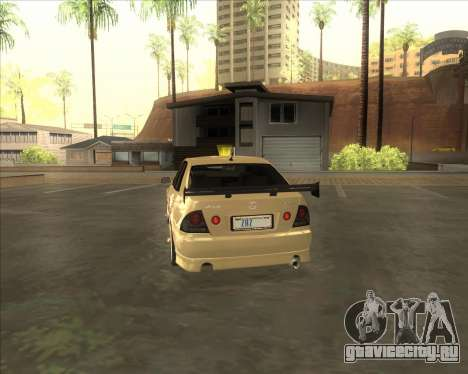Lexus IS300 Tuneable для GTA San Andreas вид справа