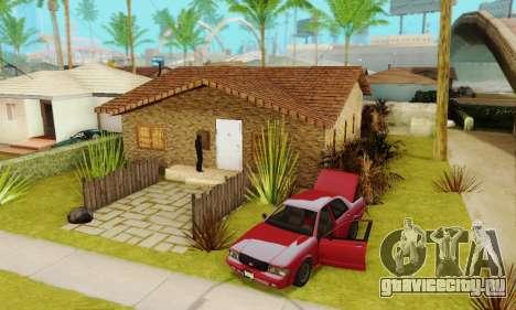 Новые текстуры дома Денис для GTA San Andreas