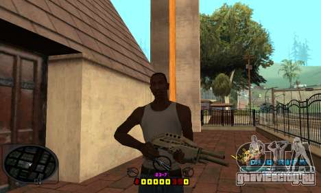 C-HUD Old-Rifa для GTA San Andreas третий скриншот