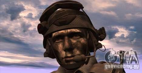 Lt. David Hesh Walker из Call Of Duty: Ghosts для GTA San Andreas пятый скриншот