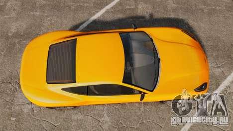 GTA V Dewbauchee Massacro для GTA 4 вид справа