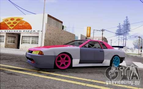 Elegy New Drift Kor4 для GTA San Andreas вид изнутри