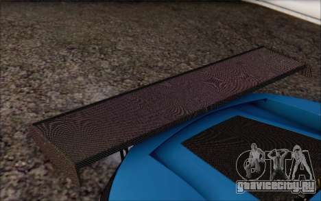 Gumpert Apollo S Autovista для GTA San Andreas салон