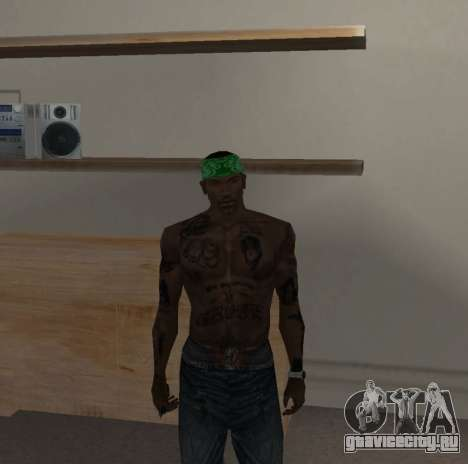 Новые банданы для CJ для GTA San Andreas