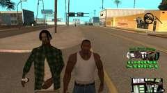 С-HUD Grove Street для GTA San Andreas