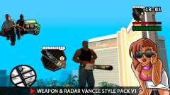 Оружие и радар VanCee Style Pack v1
