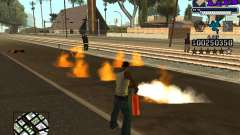 C-HUD new A.C.A.B для GTA San Andreas