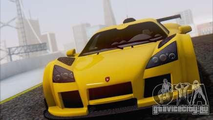 Gumpert Apollo S Autovista для GTA San Andreas