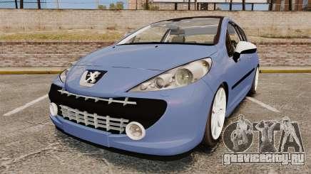 Peugeot 207 RC для GTA 4