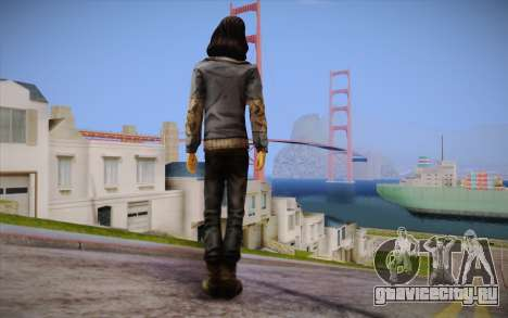 Sarah из The Walking Dead для GTA San Andreas второй скриншот