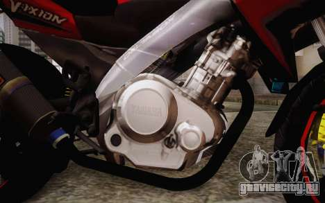 Yamaha V-Ixion 2014 для GTA San Andreas вид справа