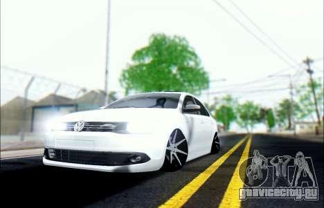 Volkswagen Jettа 1.4 МТ Comfortline для GTA San Andreas вид сзади