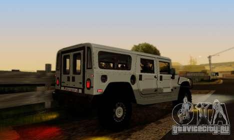 Hummer H1 Alpha для GTA San Andreas вид сбоку
