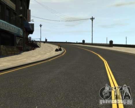 New Roads  (Textures - HD) для GTA 4 третий скриншот