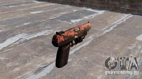Пистолет FN Five-seveN LAM Red tiger для GTA 4 второй скриншот