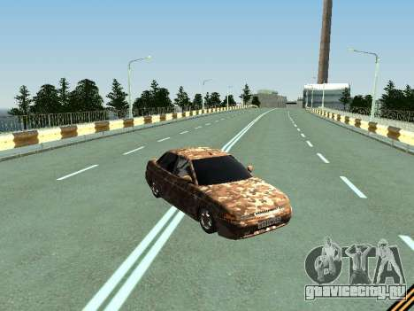 ВАЗ 2110 камуфляж для GTA San Andreas