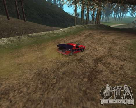 Rocket Picador GT для GTA San Andreas вид сзади слева
