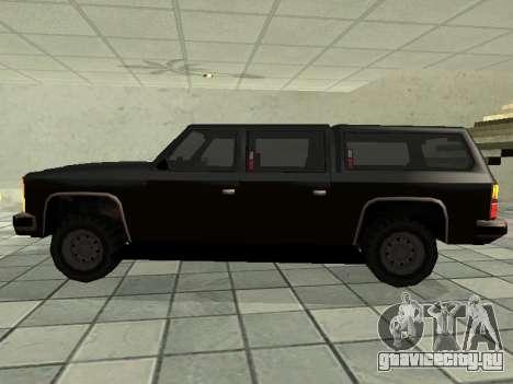 SWAT Original Cruiser для GTA San Andreas вид слева