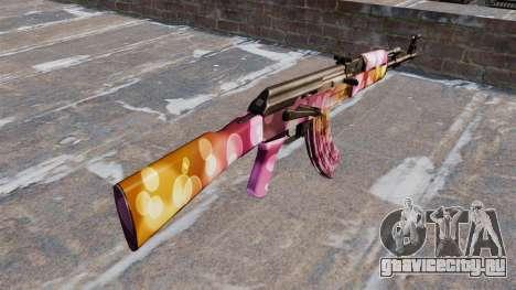 Автомат АК-47 Dots для GTA 4 второй скриншот