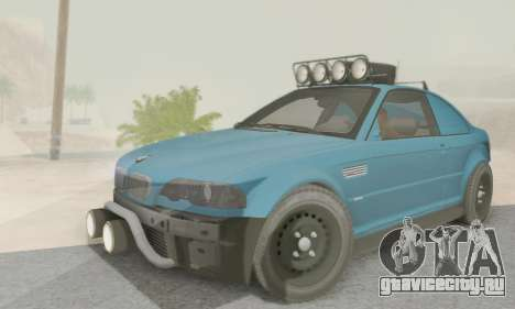 BMW M3 E46 Offroad Version для GTA San Andreas