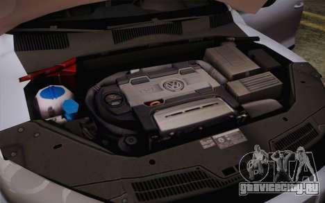 Volkswagen Scirocco для GTA San Andreas вид сбоку