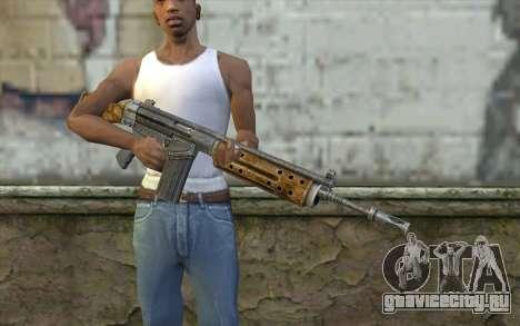 R91 Assault Rifle для GTA San Andreas третий скриншот