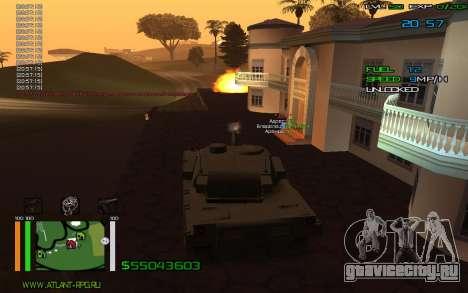 C-HUD by Bodie для GTA San Andreas второй скриншот