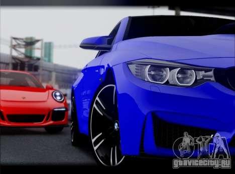 BMW M4 для GTA San Andreas вид слева