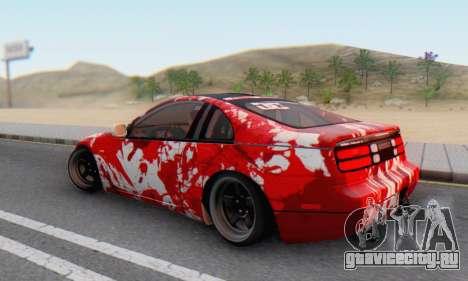 Nissan 300ZX Fairlady для GTA San Andreas вид сбоку
