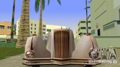 Cadillac Series 37-90 1937 V16 Cabriolet для GTA Vice City вид справа