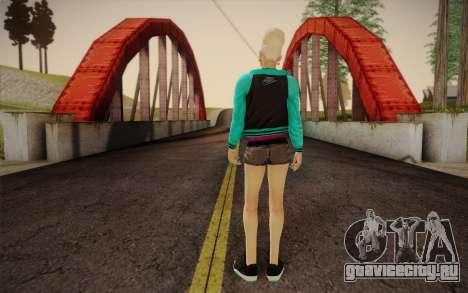 Симпатичная девушка для GTA San Andreas второй скриншот