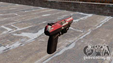 Пистолет FN Five-seveN LAM Red urban для GTA 4 второй скриншот