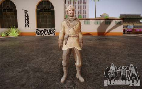 Viktor Reznov из CoD: Black Ops для GTA San Andreas