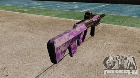 Автомат Steyr AUG-A3 Optic Purple Camo для GTA 4 второй скриншот