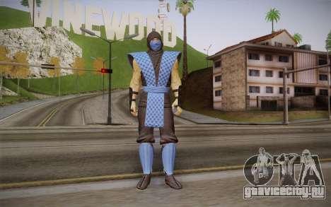 Classic Sub Zero из MK9 DLC для GTA San Andreas
