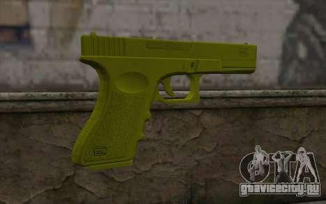 Golden Glock 18C для GTA San Andreas второй скриншот