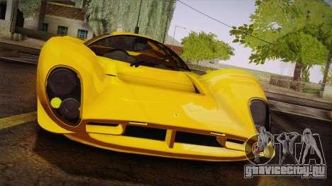 Ferrari 330 P4 1967 IVF для GTA San Andreas вид сверху
